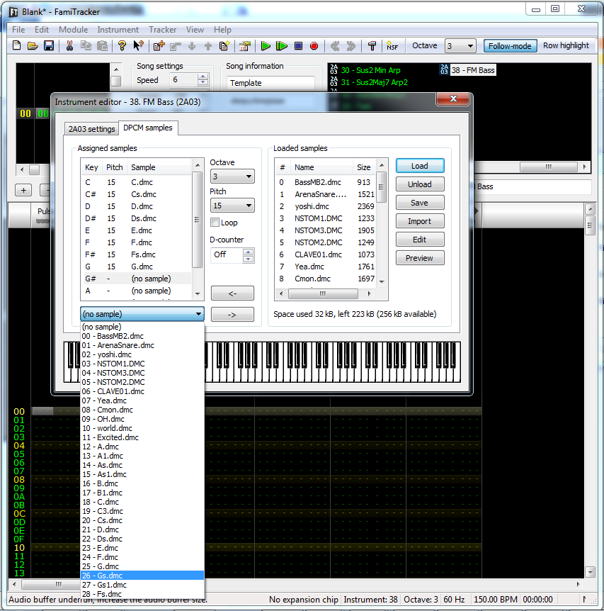 Tutorial: The Sunsoft DPCM Bass Trick in Famitracker | Video