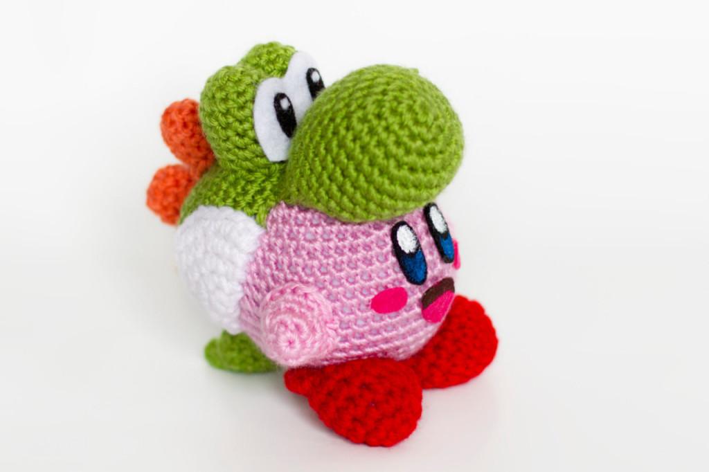 Knitting Patterns For Yoshi : Crochet Yoshi Kirby Amigurumi - VideoGameDJ
